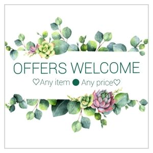 SAVE♡SAVE♡SAVE! WELCOME OFFERS♡